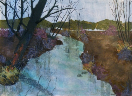 Winter Stream, Roxsane Tiernan, Artist